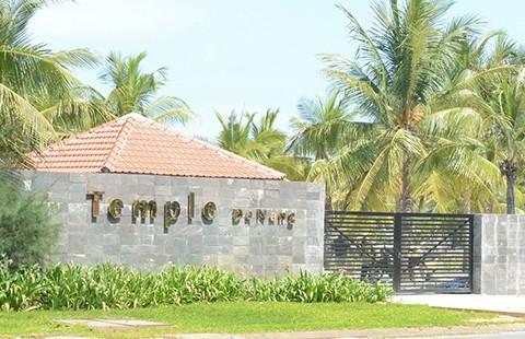 Khách sạn 'chui'ở bãi biển Đà Nẵng - ảnh 1