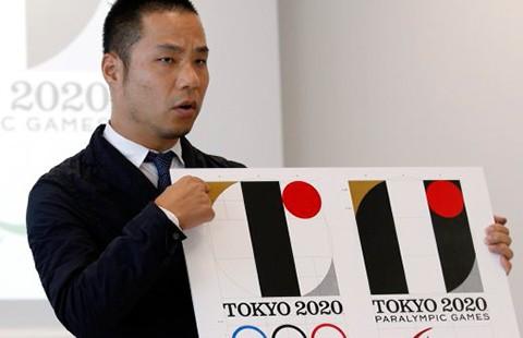 Logo Olympic 2020 bị tố là 'đạo logo' - ảnh 1