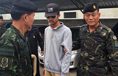 Vụ đánh bom Bangkok: Nghi can hàng đầu bị bắt - ảnh 1
