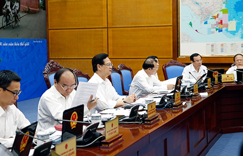 Thủ tướng Nguyễn Tấn Dũng: Ứng phó hiệu quả với biến động kinh tế - ảnh 1