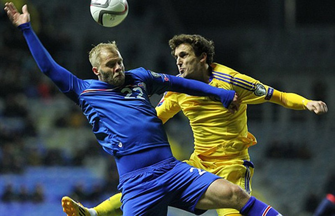Iceland lần đầu tiên đoạt vé dự Euro - ảnh 1