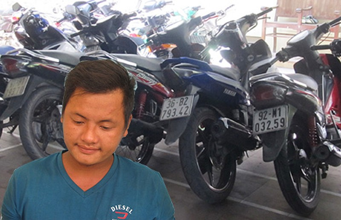 Lên Facebook rao bán xe trộm - ảnh 1