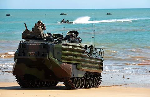 Ấn Độ, Úc tập trận hải quân - ảnh 1