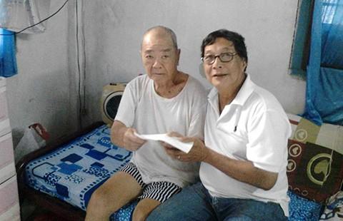 Tấm lòng với cựu danh thủ Trần Văn Nhung - ảnh 1