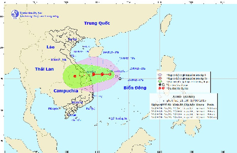 Áp thấp nhiệt đới trên biển Đông có khả năng mạnh lên thành bão - ảnh 1