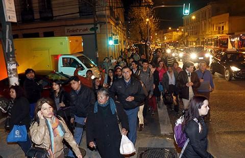 Rung chấn động đất Chile lan xa hàng ngàn cây số - ảnh 1