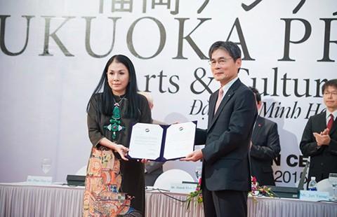 Nhà thiết kế Minh Hạnh nhận giải thưởng Fukuoka  - ảnh 1
