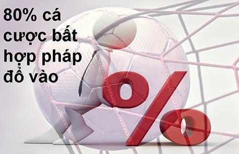 Mỗi trận hơn 1 tỉ euro cá cược bất hợp pháp - ảnh 1
