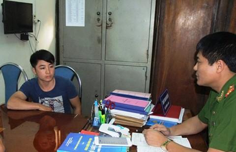Bắt hai nghi can chém nhà báo ở Thái Nguyên  - ảnh 1