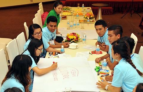 Diễn đàn thanh niên ASEAN 'Cộng đồng ASEAN - Bản sắc văn hóa' - ảnh 1