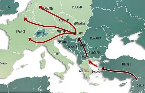 Hungary rào biên giới với Croatia - ảnh 1