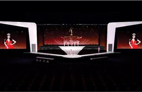 Sân khấu chung kết thi hoa hậu hình hồng hạc - ảnh 1