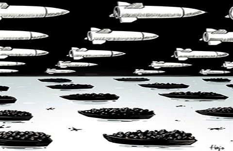 Máy bay Pháp bắt đầu ném bom ở Syria - ảnh 1