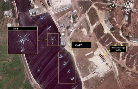 Máy bay Nga bắt đầu ném bom ở Syria  - ảnh 1
