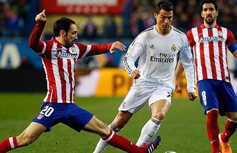 Atletico Madrid - Real Madrid: Thời cơ lật đổ Barca - ảnh 1