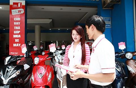 Vay mua xe máy được tặng ba tháng tiền gốc, lãi - ảnh 1