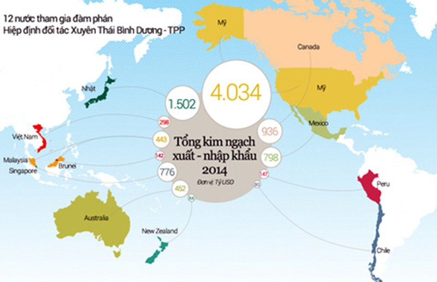 TPP hoàn tất, Việt Nam sẽ thu lợi đáng kể - ảnh 2