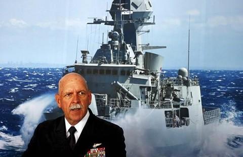 Đô đốc Mỹ sẽ đưa hạm đội tuần tra thường xuyên - ảnh 1