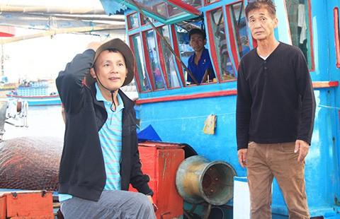 Chuyên gia Nhật ra khơi chuyển giao công nghệ cho ngư dân Việt - ảnh 1