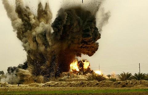 Thủ lĩnh khủng bố trúng bom bị thương - ảnh 1