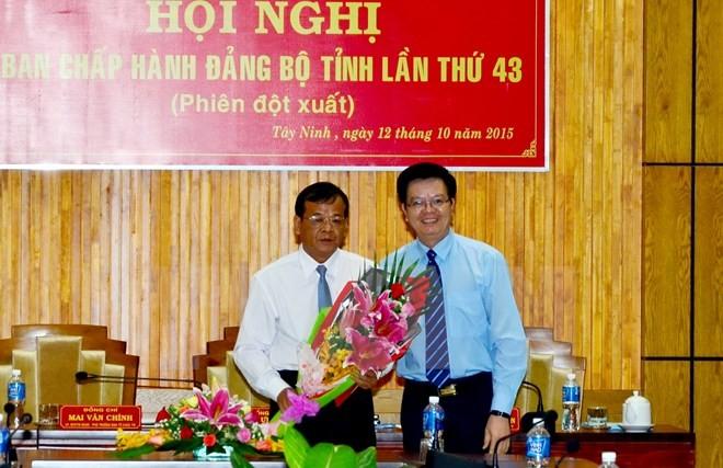 Ông Phạm Văn Tân làm phó bí thư tỉnh Tây Ninh - ảnh 1