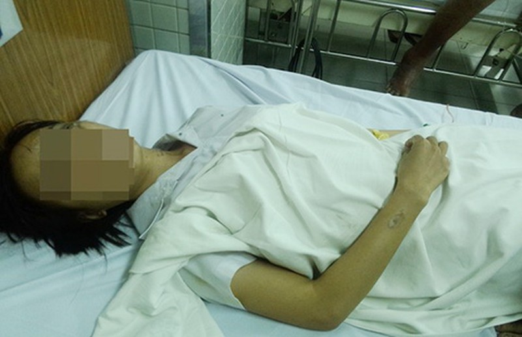 Bắt kẻ tạt acid làm hai nữ sinh viên bị thương - ảnh 1