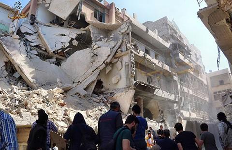 Iran tham chiến ở Syria - ảnh 1