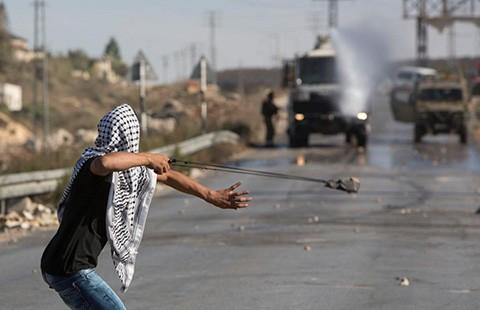 Biểu tình ở Jordan ủng hộ người Palestine - ảnh 1
