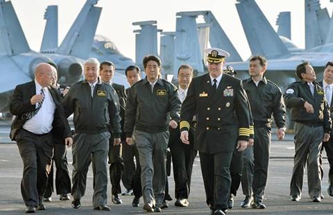 Nhật biểu dương lực lượng hải quân - ảnh 1