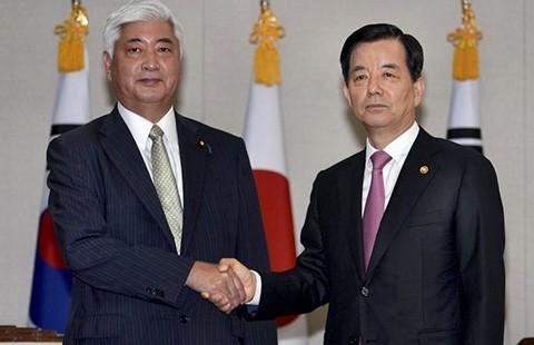 Hàn Quốc chưa chia sẻ tin tình báo với Nhật - ảnh 1