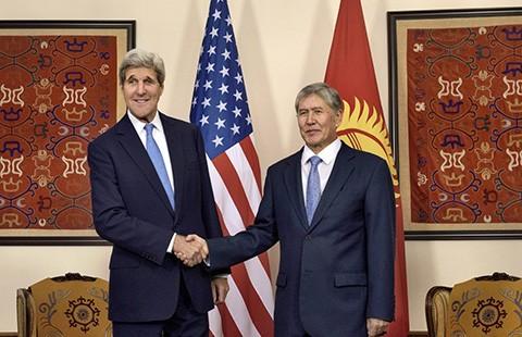 Ngoại trưởng Mỹ công du năm nước Trung Á - ảnh 1