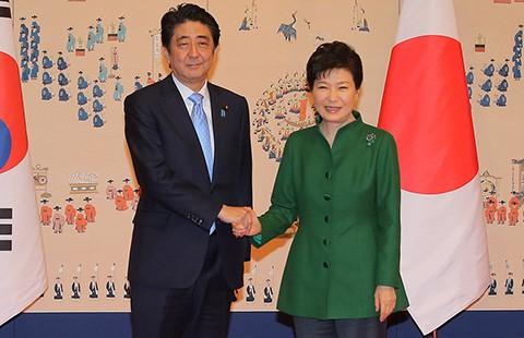 Nhật-Hàn đã gạt bỏ bất đồng  - ảnh 1