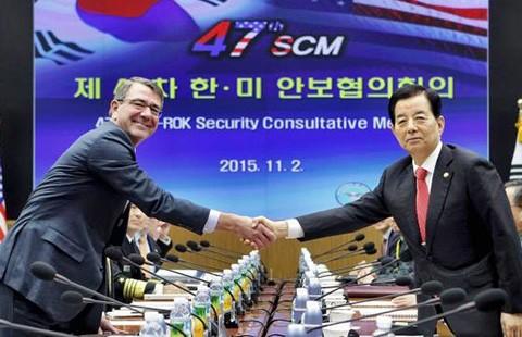 Mỹ-Hàn nhất trí không quân sự hóa biển Đông  - ảnh 1