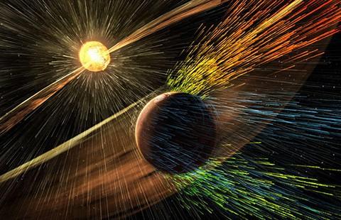 'Sóng thần' hủy hoại sự sống trên sao Hỏa - ảnh 1
