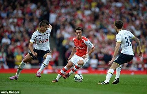 Arsenal vuột cơ hội vượt mặt Man. City - ảnh 1