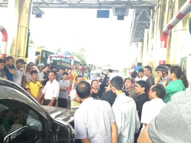 Bộ GTVT đề nghị miễn, giảm phí qua trạm Lương Sơn - ảnh 1