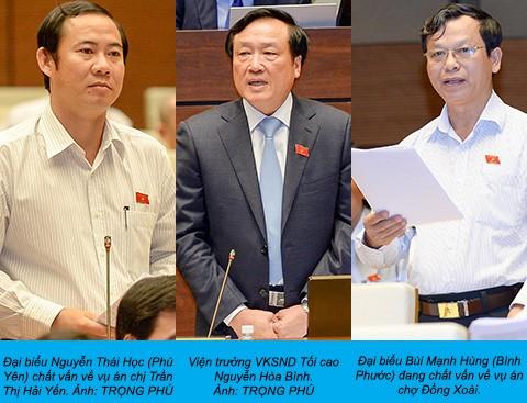 Viện trưởng VKS tối cao nói về hai nghi án oan - ảnh 1