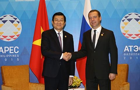 Chủ tịch nước Trương Tấn Sang tham dự hoạt động APEC - ảnh 1