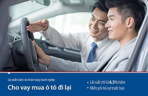 Doanh nghiệp vay mua ô tô lãi suất chỉ 6,5%/năm - ảnh 1