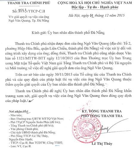 Đà Nẵng tiếp tục xử lý vụ biệt phủ trăm tỉ  - ảnh 2