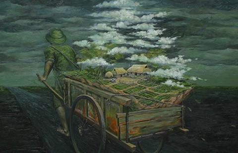 Triển lãm tranh 'Hi vọng' của họa sĩ Phạm Huy Thông - ảnh 1
