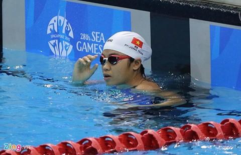 Giải bơi các nhóm tuổi Đông Nam Á 2015: VN về nhì khu vực - ảnh 1