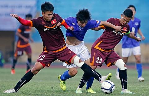 Đội U-23 Việt Nam: So găng với đội nghiệp dư tuổi 17-18 - ảnh 1