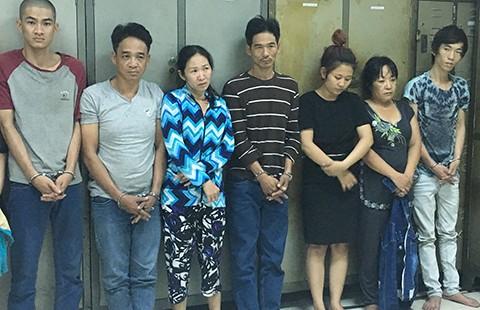 Bốn nhóm trộm ở trung tâm Sài Gòn sa lưới - ảnh 1