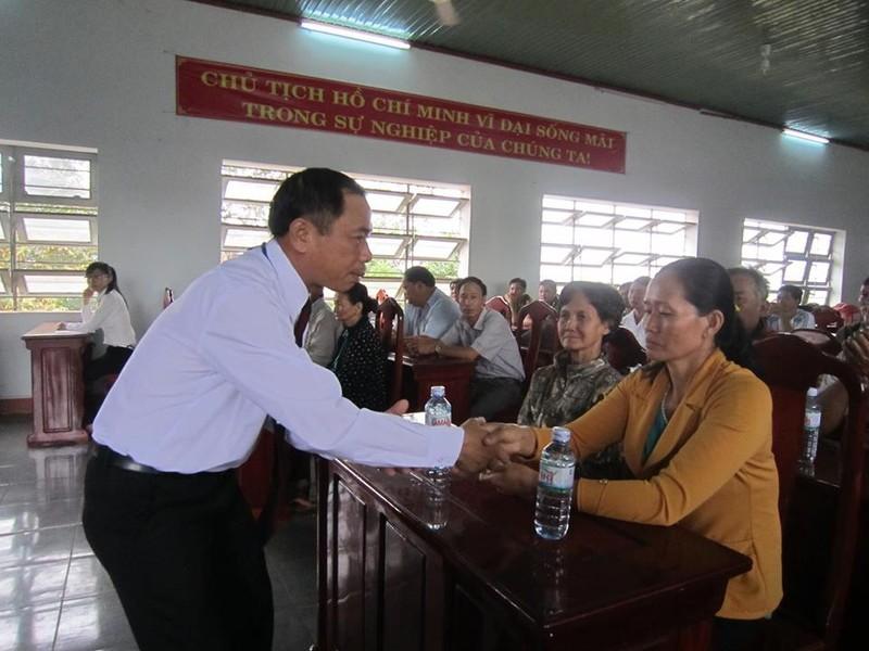 Bình Phước: Bốn công dân  bị xử oan được tòa xin lỗi - ảnh 1