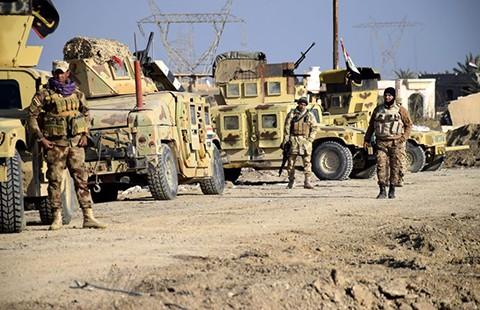 Quân đội Iraq tái chiếm TP Ramadi - ảnh 1