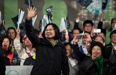Nữ lãnh đạo đầu tiên của Đài Loan - ảnh 1