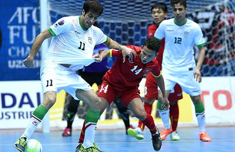 VCK Futsal châu Á: HLV Bruno chia sẻ sau trận thua đậm Iran - ảnh 1
