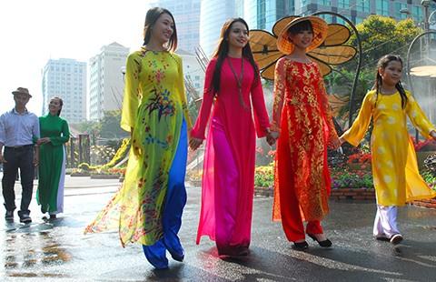 Sài Gòn sẽ là 'Thành phố áo dài' - ảnh 2