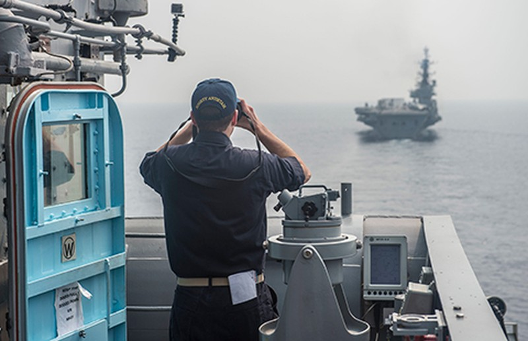 Hải quân bốn nước tuần tra biển Đông? - ảnh 1